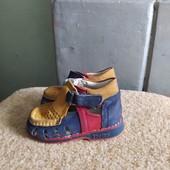 Кожаные ортопедические сандали