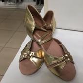 Танцевальные туфли блок каблук