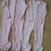 1 на выбор )))человечки пижамы на 18-24 мес