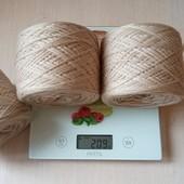 Пряжа для вязания, мягусенькая мериносовая шерсть, Италия , лот - 100г