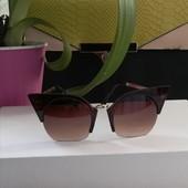 Стильная новинка! Солнцезащитные очки от Miu miu, Бренд, высокое качество! На лице смотрятся круто!