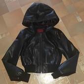 Кожаная курточка размер XS-S