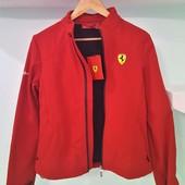 Женская ветровка на флисе Ferrari оригинал новая L