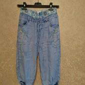 Бриджи лёгкий джинс новые, размер на выбор