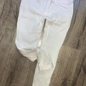 Укороченные брюки скинни стрейч котон с отворотом Замеры