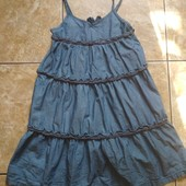 Джинсовое платье Н&М, отличное состояние
