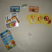 Веселая карточная игра Angry Birds от Mattel