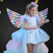 Платье с пони,поняшка,единорог 7-8 лет