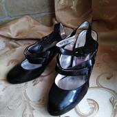 Лот 3 пары! Женские туфли Chanel, производитель Франция. р. 39 - 24,3 см.