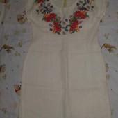 Платье, сарафан лен