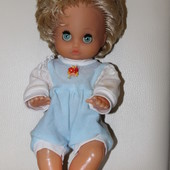 кукла винтаж 27 см
