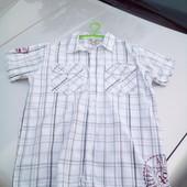 Стоп!!,фирменная натуральная красивая удобная тениска 14t