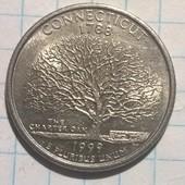 США 25 центов 1999