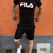 Спортивный костюм Fila (футболка, шорты)
