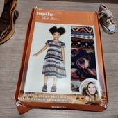 Германия!!! Симпатичное лёгкое платье-сарафан для девочки! 92 полномер! В упаковке!