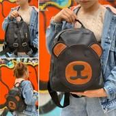 Модный рюкзак с мишкой