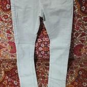 узкие джинсы р 27 читайте замеры , высокая посадка