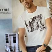 Модная,тренд 2020 мужская футболка Livergy размер XXL