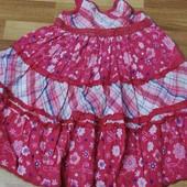 Нарядне плаття на 2-3 роки. Котон в ідеалі Дивіться інші мої лоти