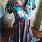 Женское трикотажное платье Lm Lulu, производитель Франция. Размер L(44-46)