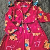 Тёплые классные халатики на ваших любимых малышей от 1 годика до 7-8 лет
