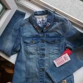 Шикарная джинсовая курточка Gloria Jeans 10-12 лет/146-152