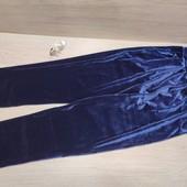Польша! Крутые Веллюровые штанишки с карманами! 146рост!