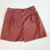 шорты кирпичного цвета