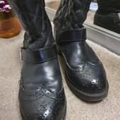 Стёганные ботиночки, р.36