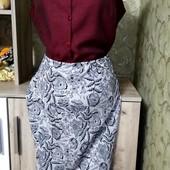 Собираем лоты!! Комплект юбка +блуза, размер 14