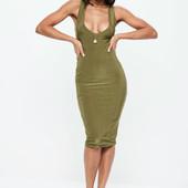 Сексуальное платье миди Missguided uk4-6/eur32-34/xxs-xs