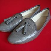 Балетки лоферы Zara Basic размер 36-37