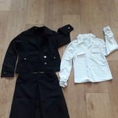 Вещи для школы/Школьный комплект (пиджак+блузочка/рубашка+юбка).