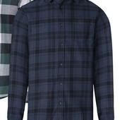 Отличная мужская фланелевая рубашка Livergy Германия размер L (52/54)