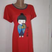 Платье для сна и отдыха, домашнее платье 100% хлопок XXL-размер