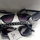 Весна! Chanel брендовые Реплика 1в1 с оригиналом.степень защиты:UV400категория:3Чит.описание черный