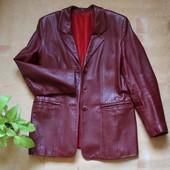 Разгружаю гардероб: Женский кожаный пиджак. L-XL