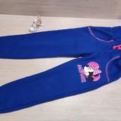 Германия!!! Суперовые коттоновые штанишки с начесом для девочки! 104 рост, описание!