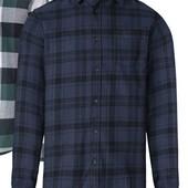 Отличная мужская фланелевая рубашка Livergy Германия размер XXL (45/46)