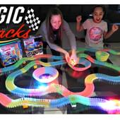 Детский автотрек/ Magic Tracks гоночный трек (Мэджик Трек) 220 деталей