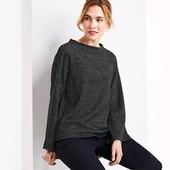 Модная толстовка - свитшот для стильного образа от Tchibo (германия) размер 42/44 (евро 36/38)