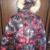 """Фірмова пухова термо куртка """"emt"""" розм.М(L,XL)"""