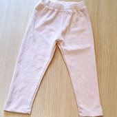 Велюрові штанці, бренд lupilu германія, розмір 86/92, ніжно рожевий колір