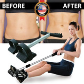 Тренажер для дома Tummy Trimmer, Эспандер пружинный, подтяжка живота, тренировка мышц