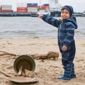 ☘ Комбинезон от Tchibo (Германия) для активных детей! Не продувается, не промокает, размер: 74/80