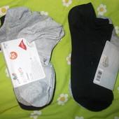Коротенькие мужские носочки. Лот 5 шт(комплект). Сток. Италия