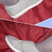 Текстильные мокасины Hobos, разм. 5 (25 см внутри). Сост. хорошее! На широкую ногу.