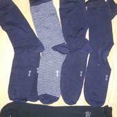 5 пар красивых качественных носков Tchibo Германия, размер 44-46