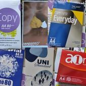 Бумага офисная А4, 500 листов (Остатки)