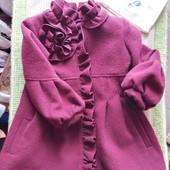 Красивое пальто на девочку